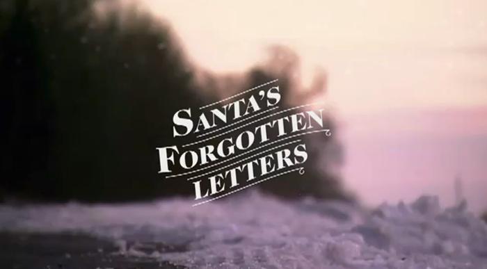 Santa's Forgotten Letters – Coca Cola