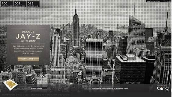 Bing Maps ile Jay-Z'nin Hayatını Keşfet