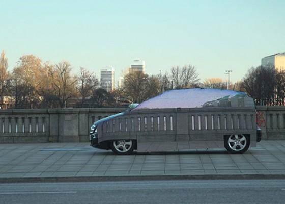 Mercedes Benz –  Invisible Car