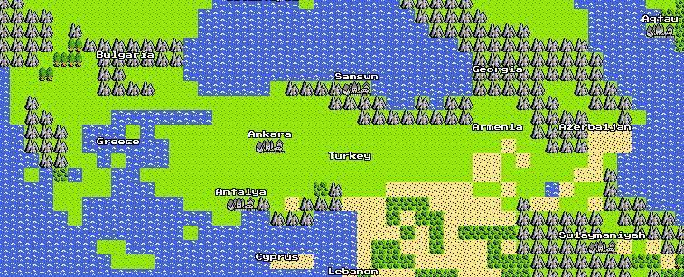 Google'dan Atariler İçin 8-Bit Google Maps