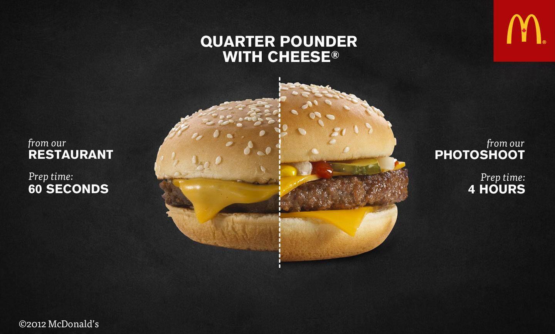 Hamburgerler neden reklamlarda daha farklı gözüküyor ?
