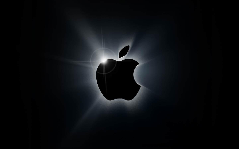 apple-black-logo-wallpaper