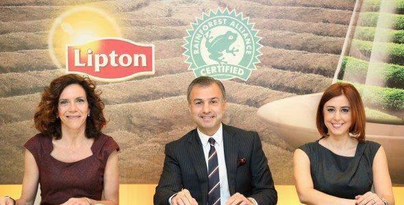 Lipton'dan Türkiye'ye Bir İlklik Sertifikası