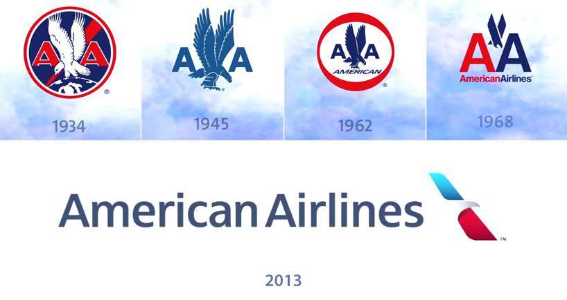American Airlines Logosunu Yeniledi