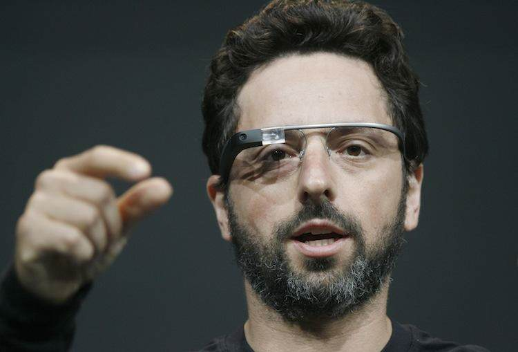 Sergey Brin, co-founder of Google appear
