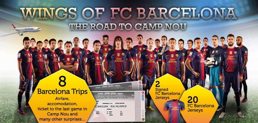 Türk Hava Yolları ile Camp Nou Facebook'a Taşınıyor