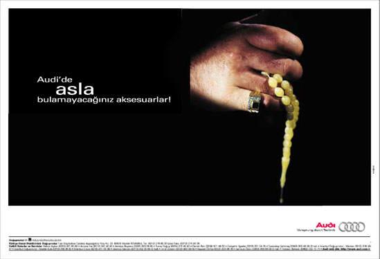 Audi'yi Audi Yapan Reklam: Not Really My Style