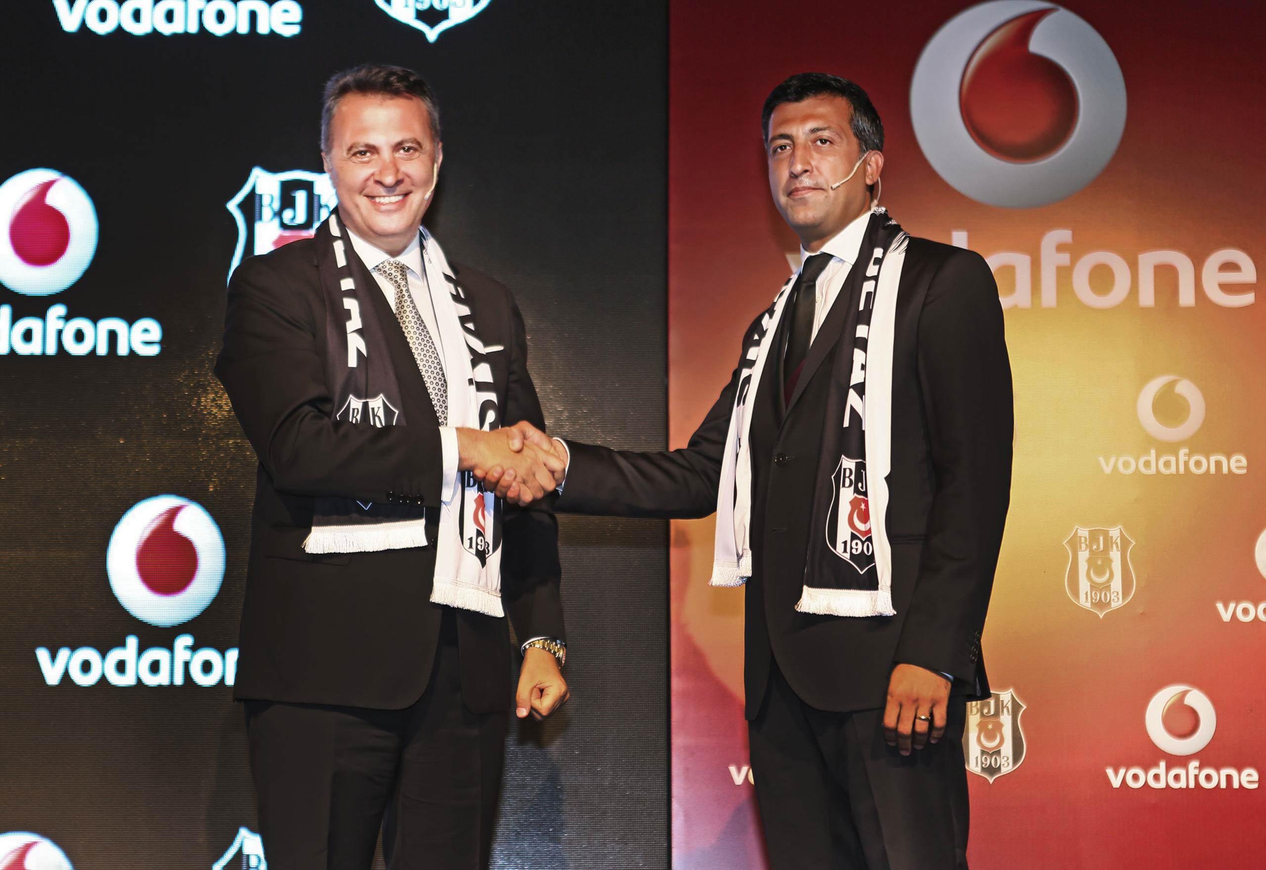 Beşiktaş ile Vodafone Türkiye Arasında Dev Anlaşma