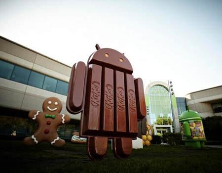 Android KitKat ile Geliyor !