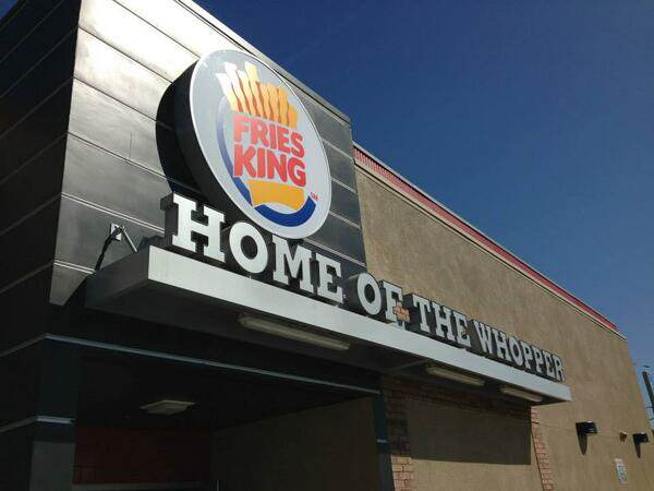Burger King İsmini Değiştirdi!