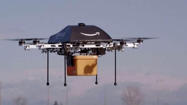 Amazon'dan İnsansız Hava Aracı İle Teslimat Atağı