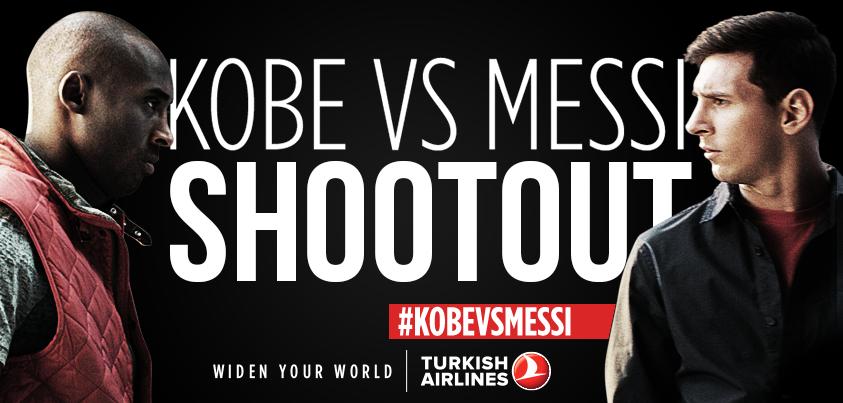 """Yılın Kelimesi """"Selfie"""" Kobe ve Messi İle Yeni THY Reklamında"""