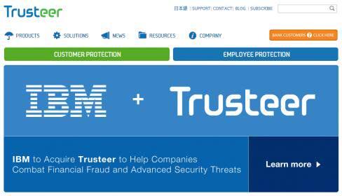 IBM 'Güvenlik Şirketi Trusteer'ı Satın Alıyor