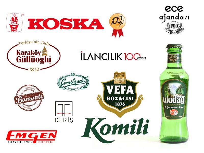 Türkiye'nin Yüz Yıllık Markaları