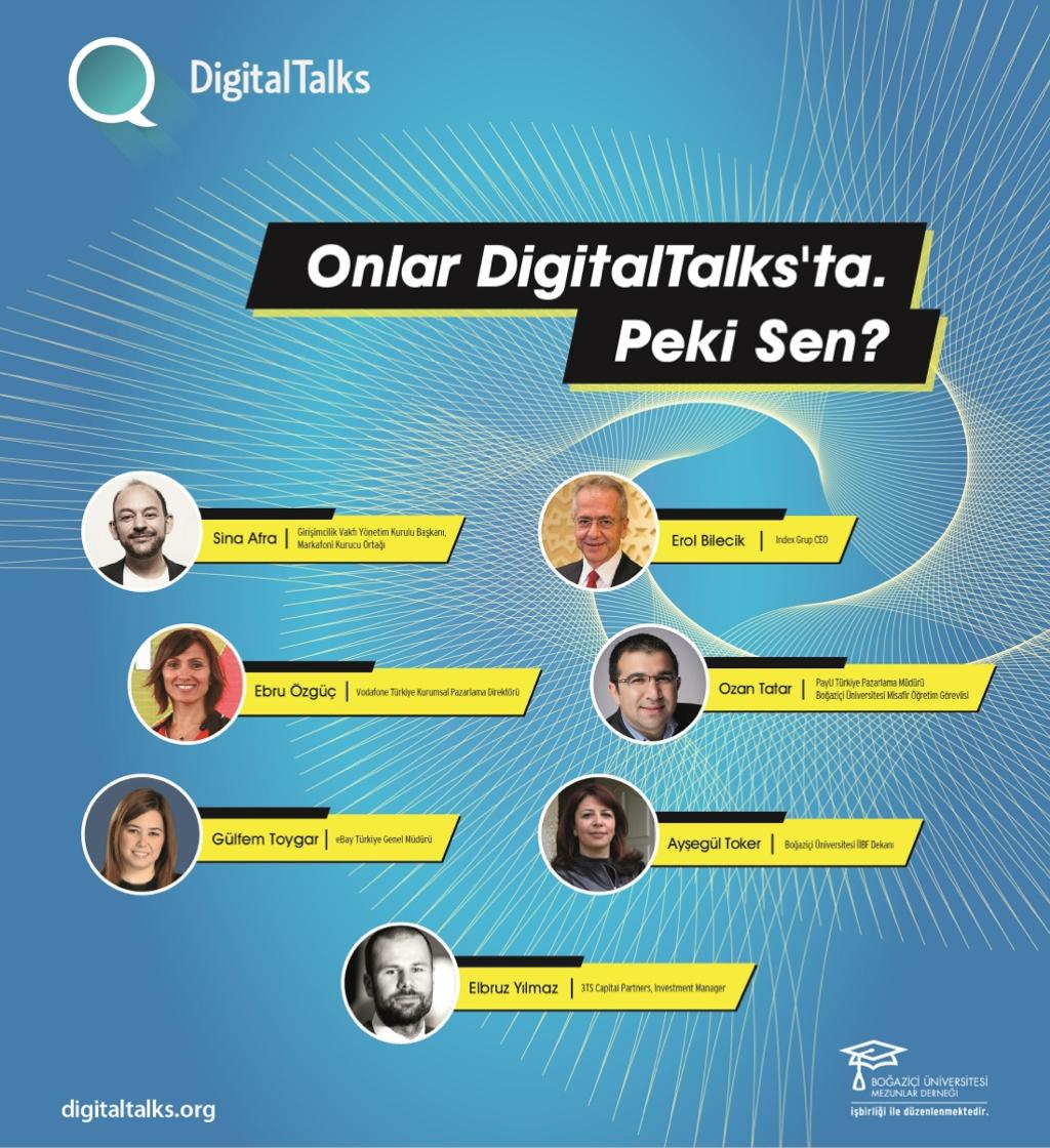 16 Aralık Salı günü DigitalTalks'tayız