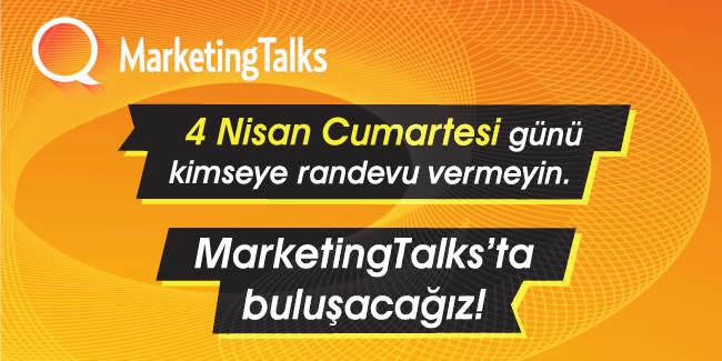 Pazarlama Dünyası MarketingTalks İlkbahar15'te Bir Araya Geliyor
