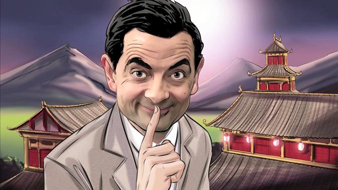 Açken Sen, Sen Değilsin'e Mr. Bean Yorumu