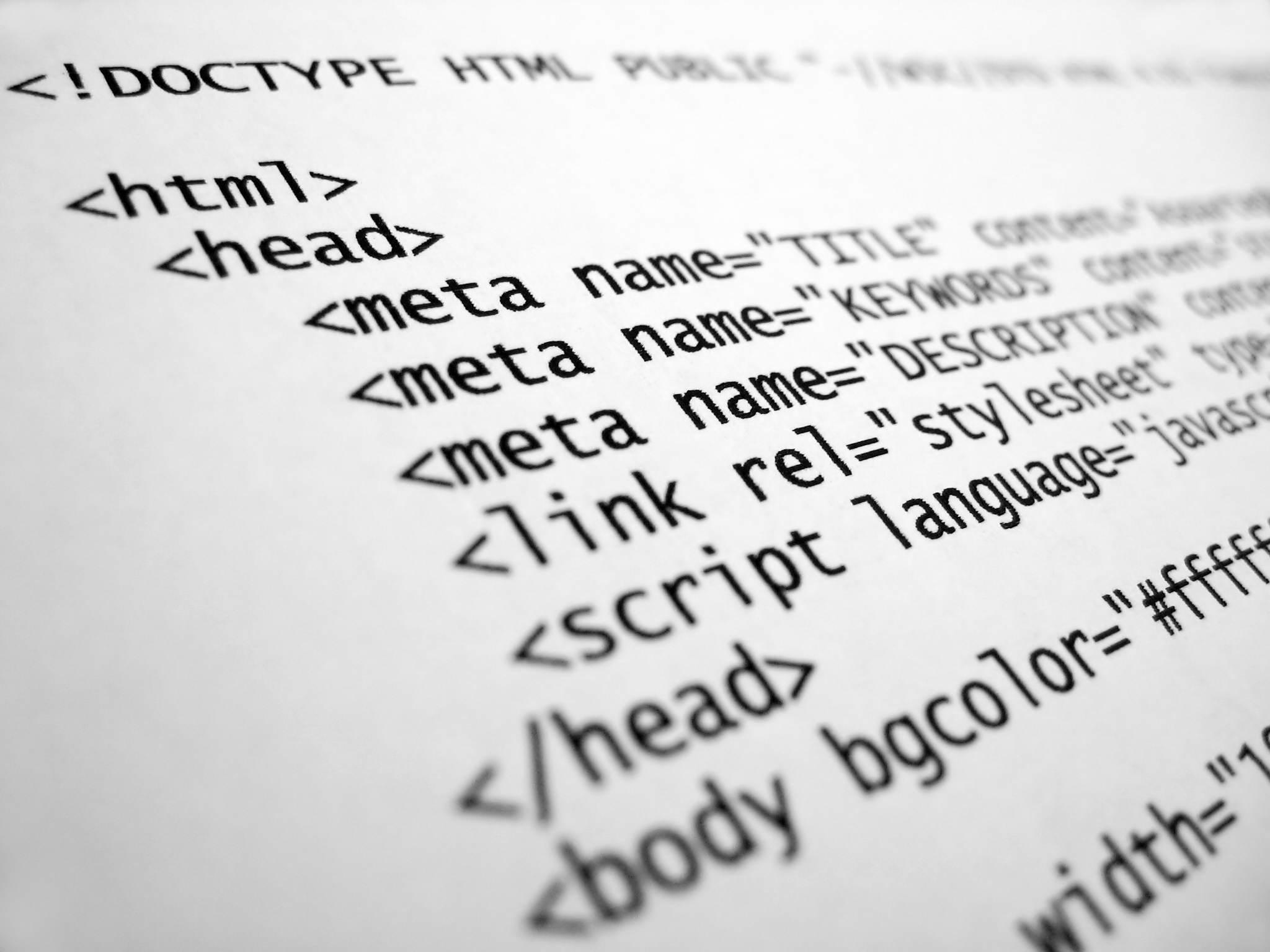 HyperText Markup Language (HTML) Nedir?