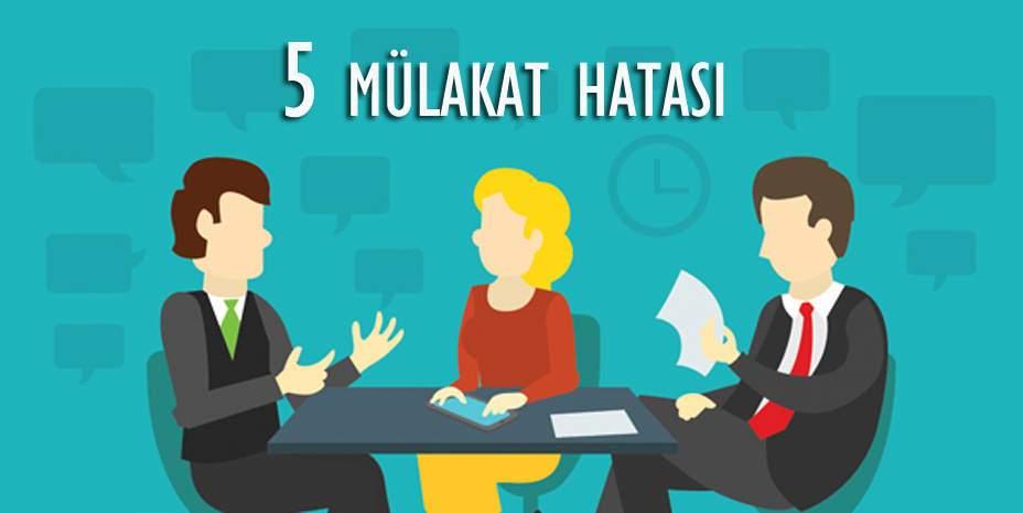 Pazarlama Mülakatında Yapılmaması Gereken 5 Davranış