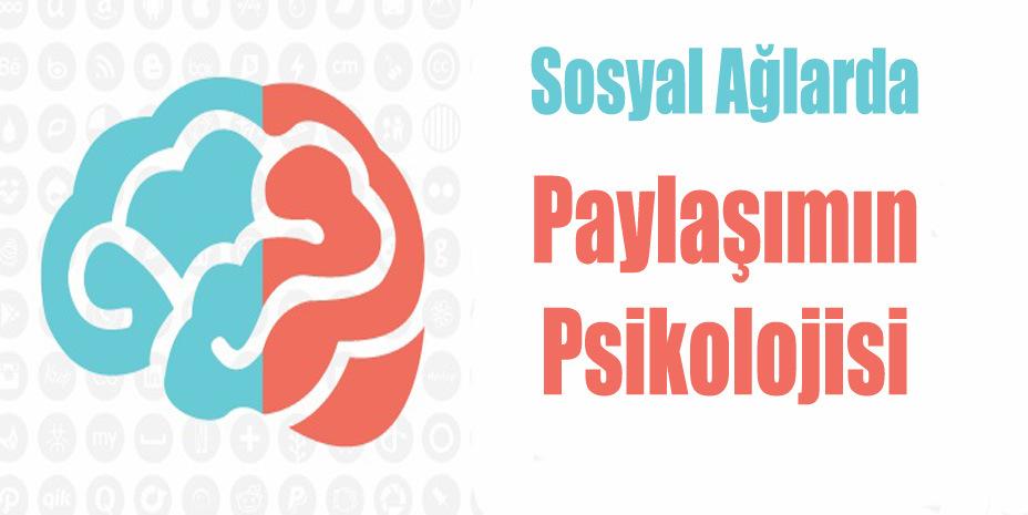 Sosyal Ağlarda Paylaşımın Psikolojisi – İnfografik