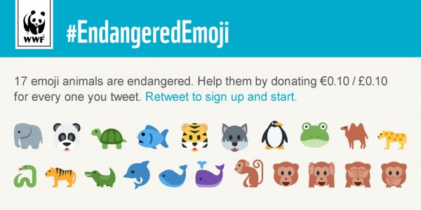 WWF Endangered Emoji