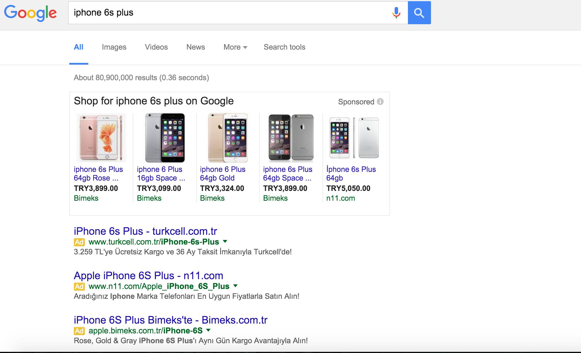 iphone 6s plus reklam