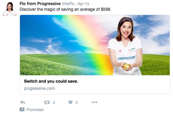 Progressive - Twitter Desktop Link