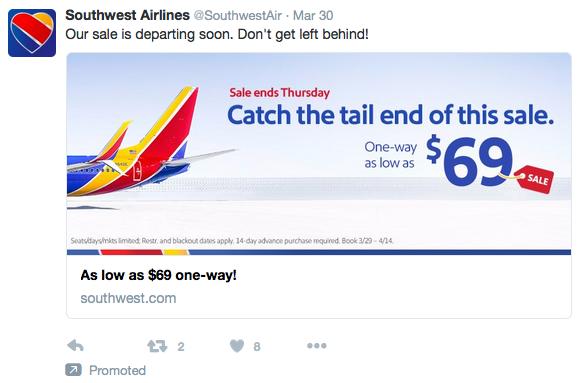 Southwest - Twitter Link