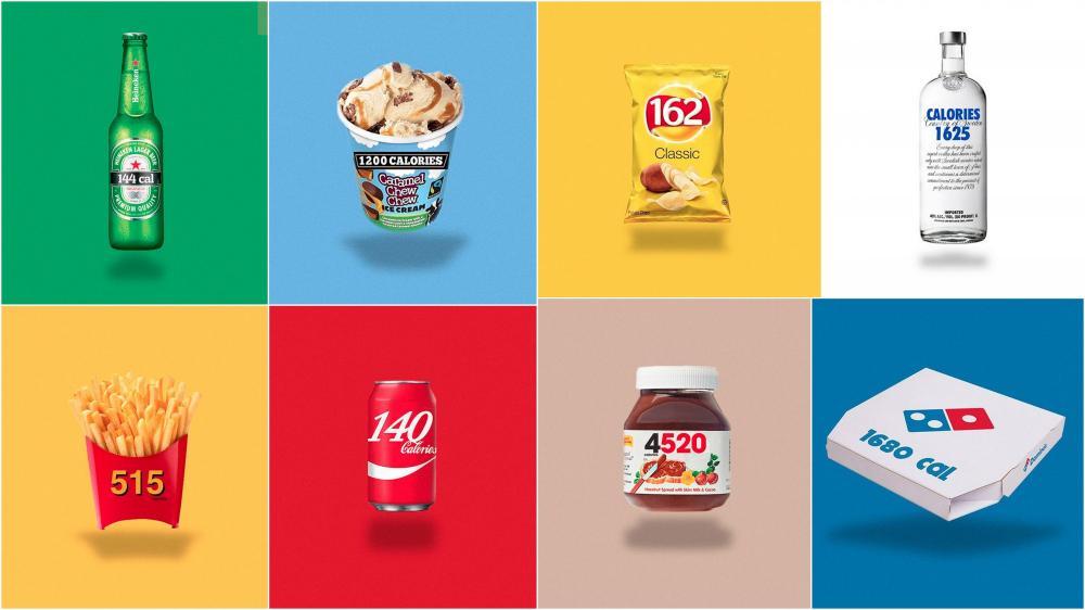 Ambalajlarda Markaların Logoları Yerine Kalorileri Olsaydı?