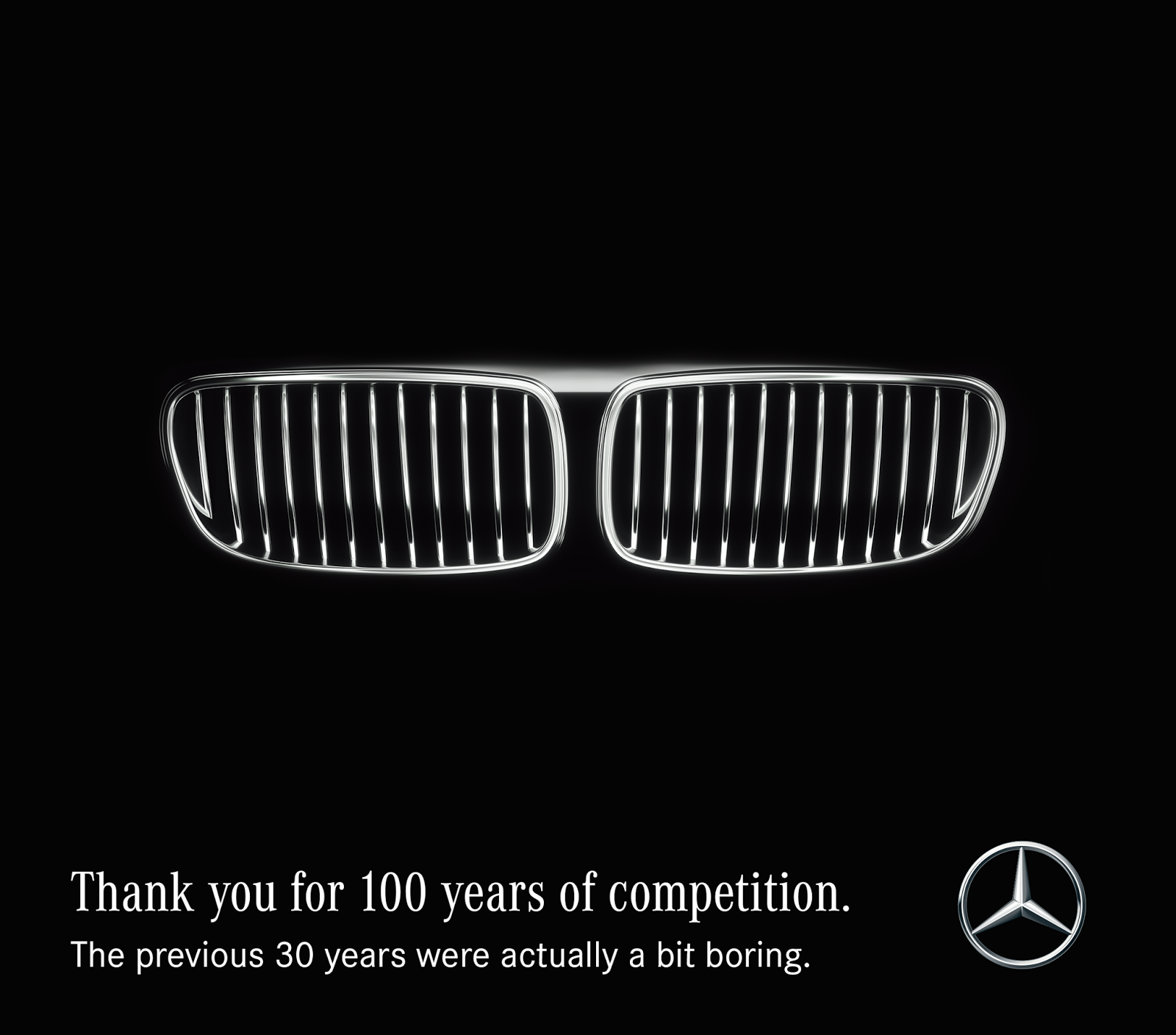 100 years BMW-original Mercedes