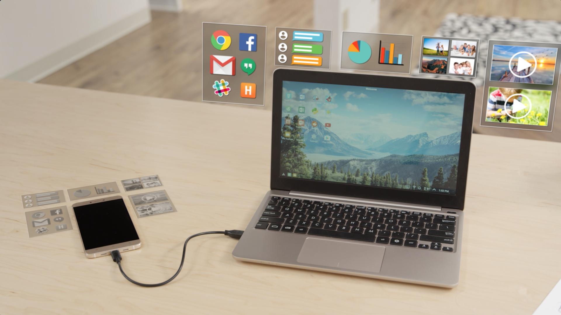 Akıllı Telefonunuzu Bilgisayara Dönüştüren Süperkahraman: The Superbook