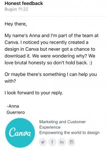 canva mailing
