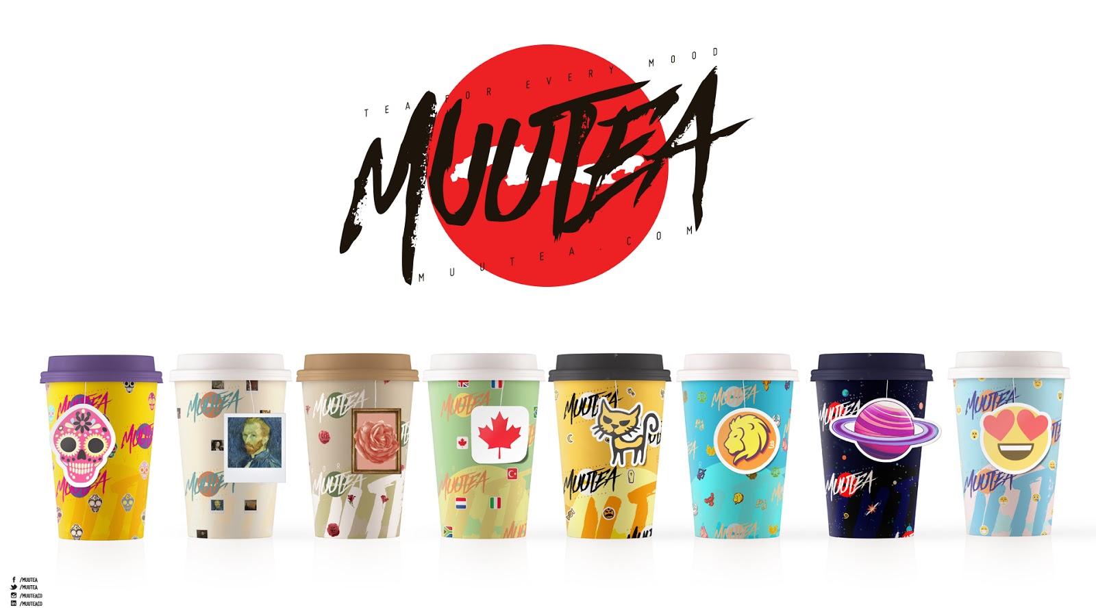 Karadeniz Çayı Eğlenceli Tasarımlarla Birleşti : MuuTea