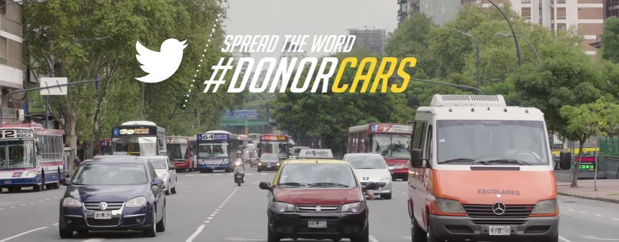 Arjantin'de Organ Bağışını Destekleyen Taksiler!