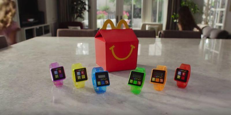 McDonald's Happy Meal Menülerinin Yeni Oyuncağı: Adım Sayar!