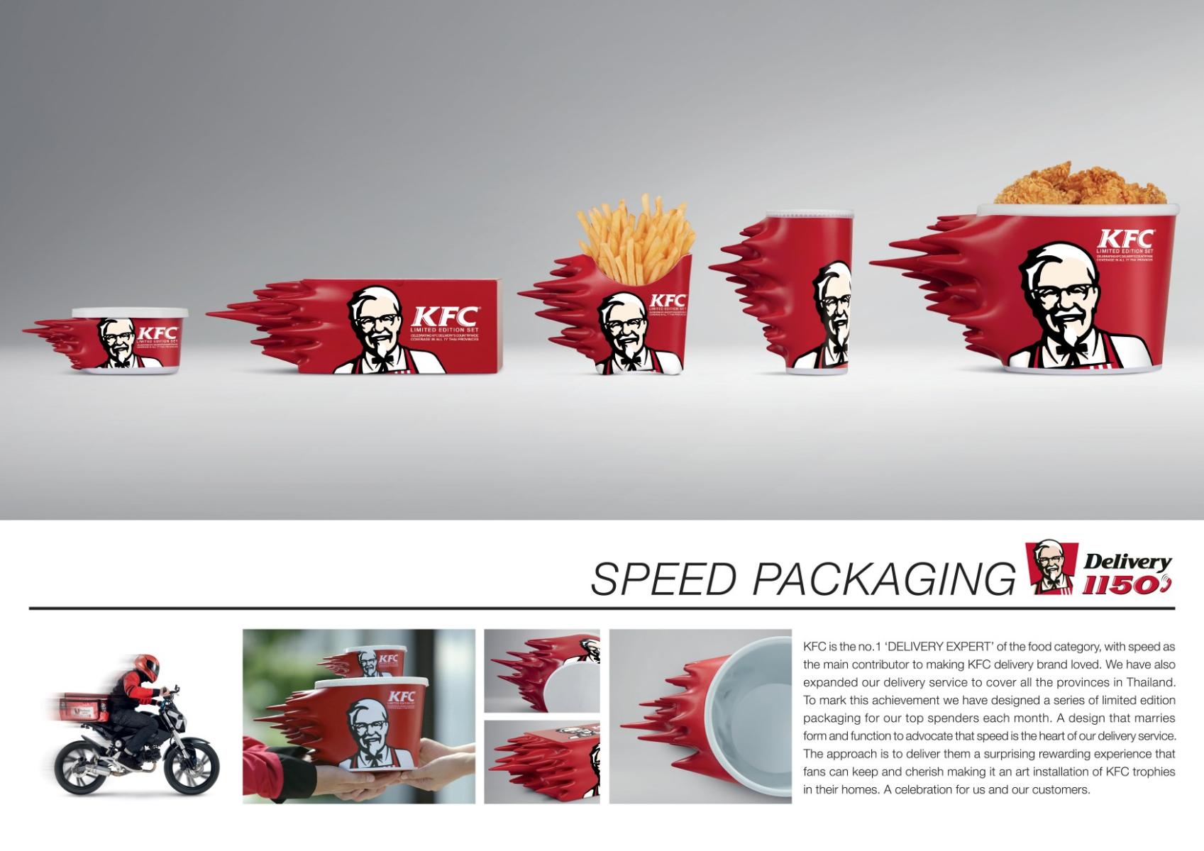 """KFC'den """"Hıza"""" Vurgu Yapan Yeni Paketler!"""