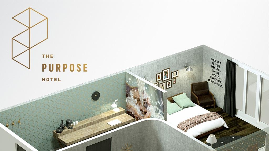 Uyuyarak Dünyayı Daha İyi Bir Hale Getirebileceğiniz Tek Yer: The Purpose Hotel