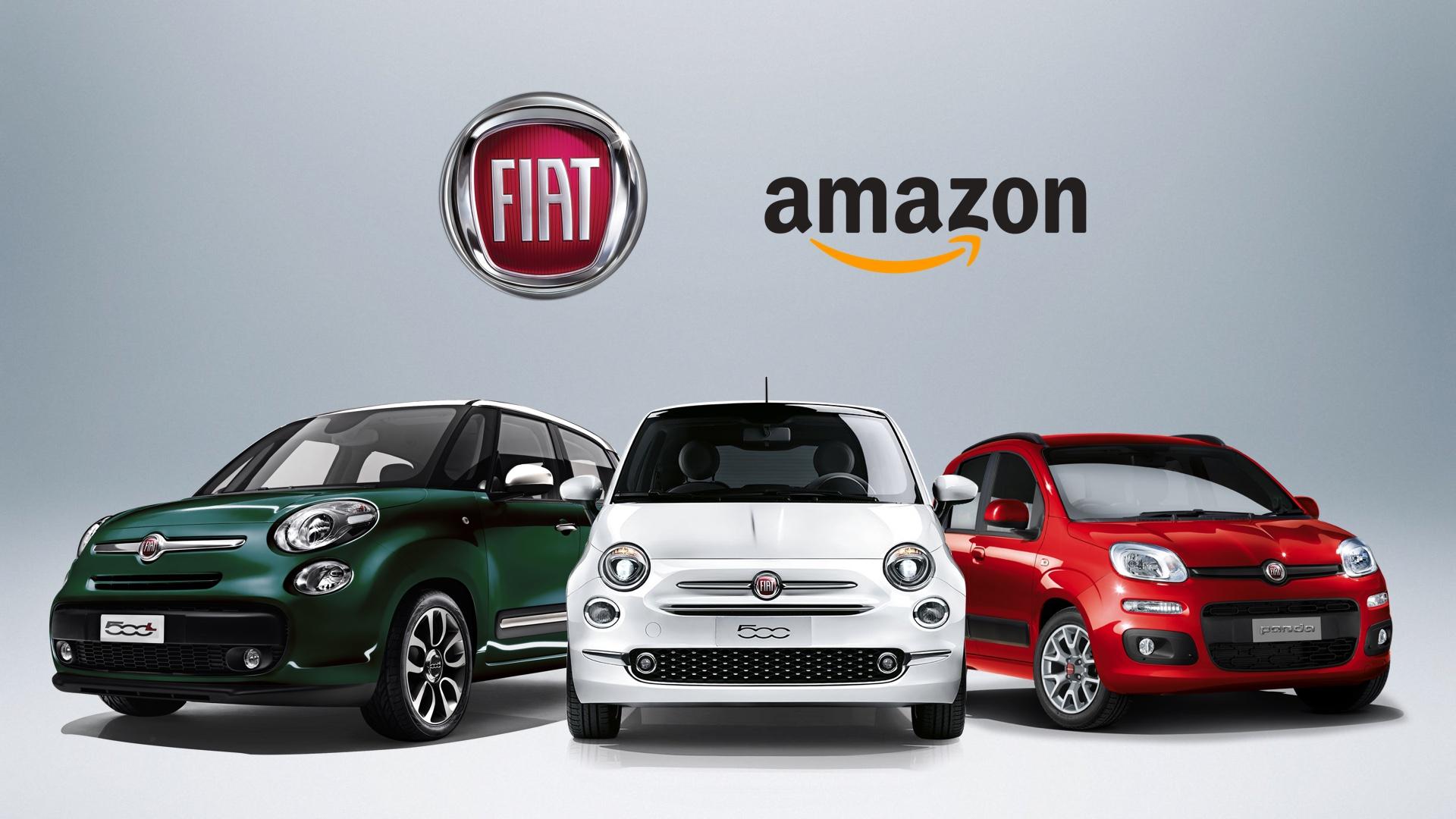 Fiat ve Amazon İnternetten Araba Satışı için Anlaştı