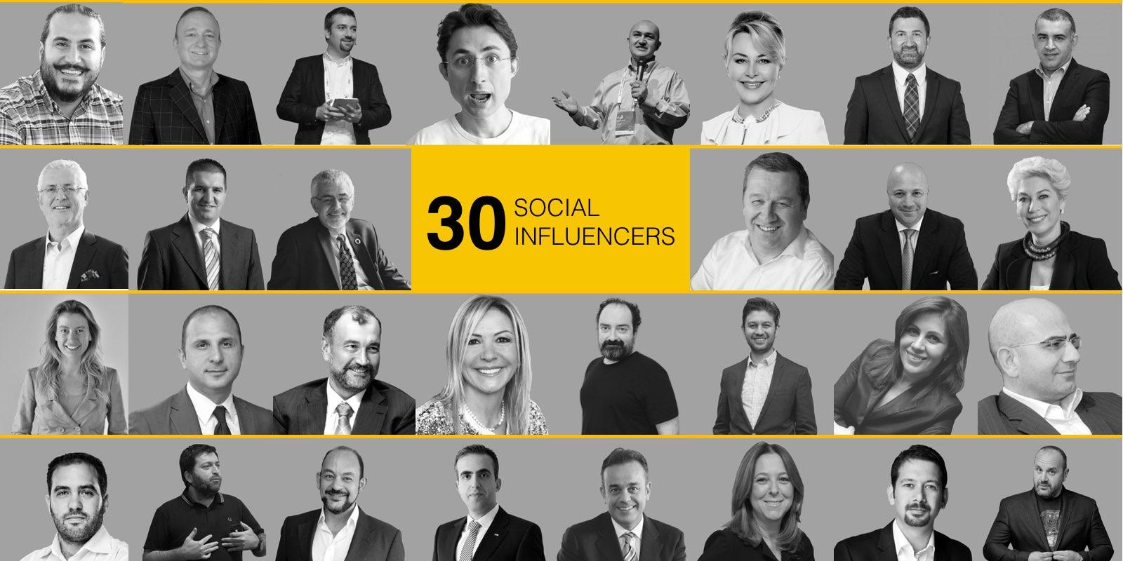 Social Influencers 2017 Listesi Yayında