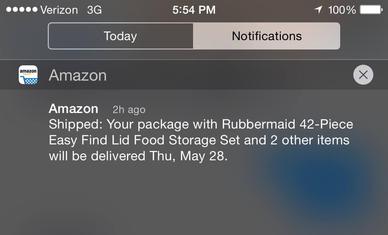 amazon-push-notification