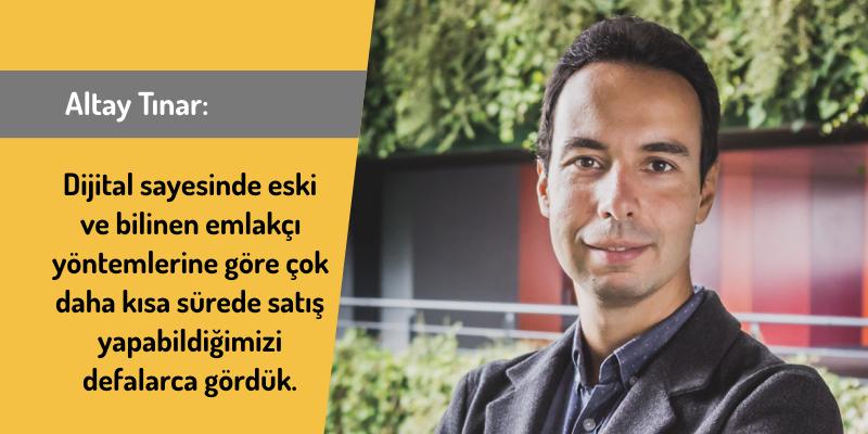 Yuvako Kurucusu Altay Tınar ile Dijital Gayrimenkul Sektörü Üzerine…