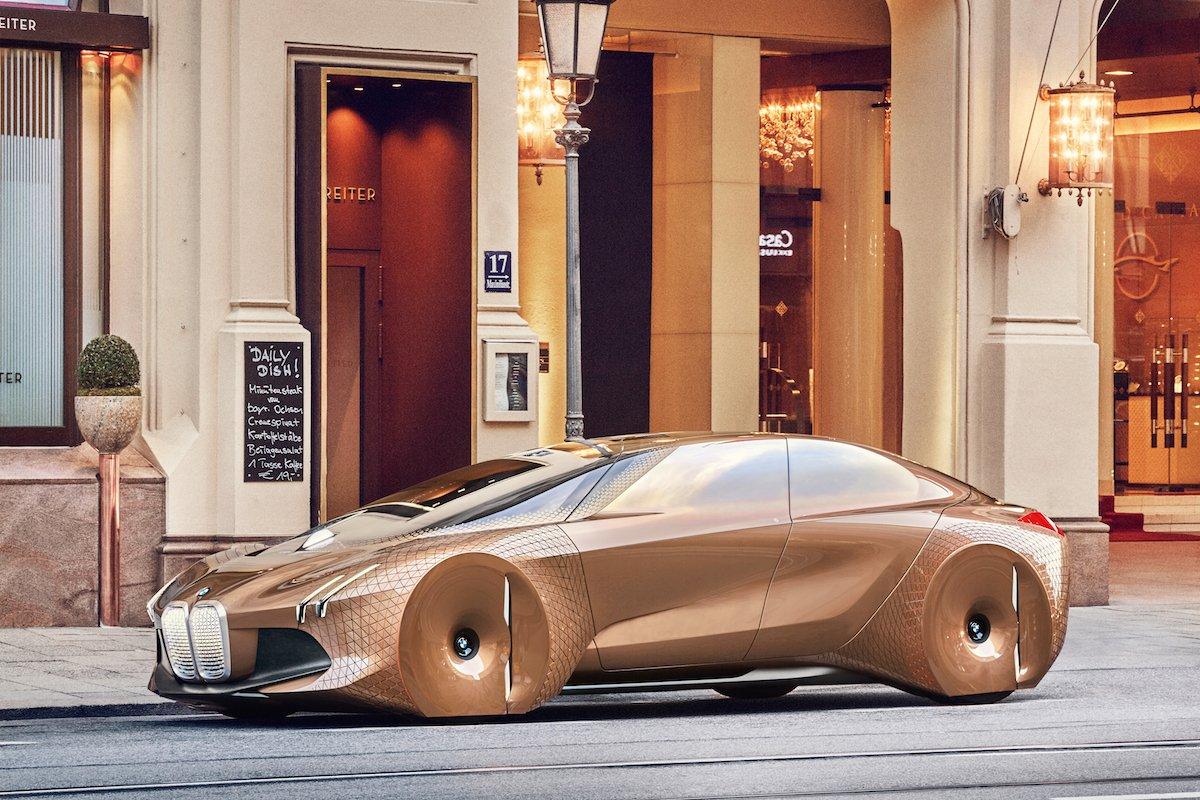 BMW'den 3 Fütüristik Sürücüsüz Konsept Araç
