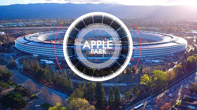 Apple Park Heyecan Uyandıran Drone Görüntüleri İle Karşınızda