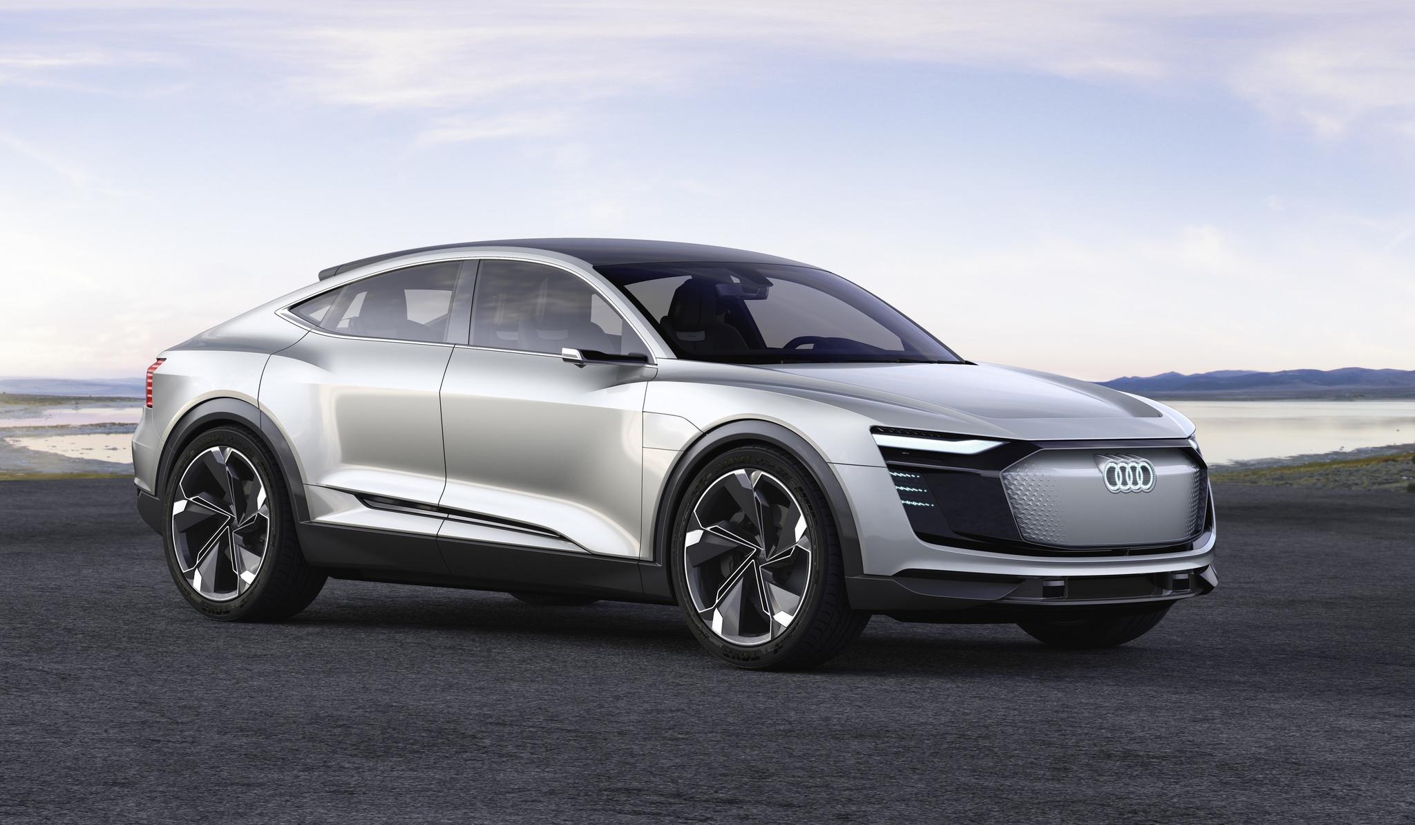 Audi'den Tesla Model X'e Rakip Elektrikli Araç