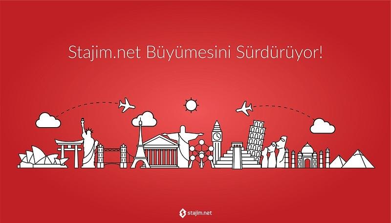 Staj Odaklı Sosyal Ağ Stajim.net, Dünyaya Açılıyor