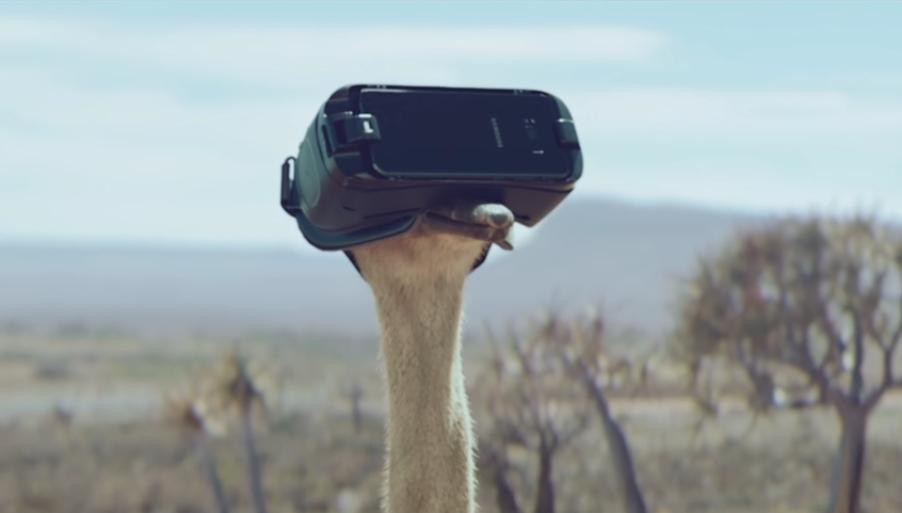 Samsung'tan Azimli Bir Devekuşunun Hikayesini Anlatan Gear VR Reklamı