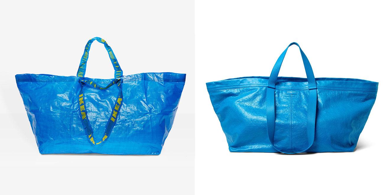 IKEA'nın 99 Cent'lik Çantası, 2145 Dolarlık Balenciaga'ya Karşı