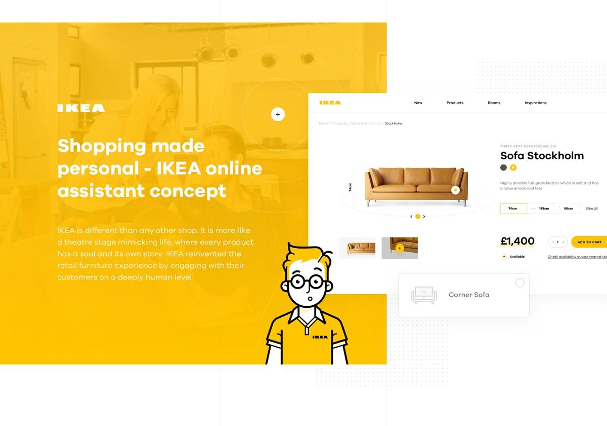 IKEA, Online Alışveriş Deneyimini Fiziksel Mağazalarındakine Yakın Hale Getirdi