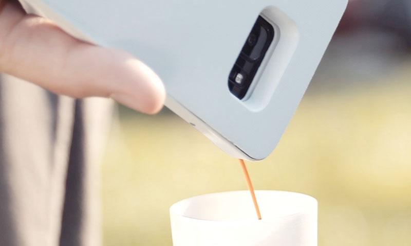 Espresso Makinesi Olarak Kullanılabilen Telefon Kılıfı: Mokase
