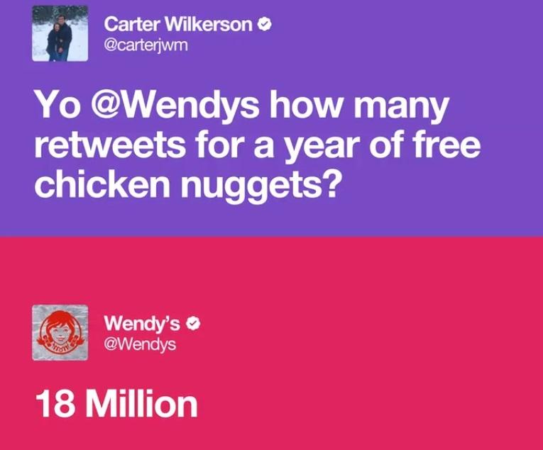 Twitter'daki Retweet Rekoru, Bir Yıllık Bedava Nugget İsteyen Genç Tarafından Kırıldı